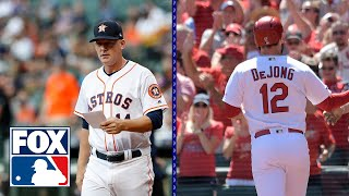 Astros injury issues and who is the Cardinals MVP? | MLB WHIPAROUND