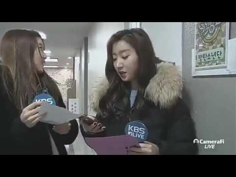 [ENG] [170224] BTS Jungkook walking by @ MUSIC BANK : KBS News English