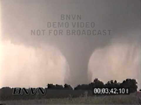 6/13/2001 Seward Nebraska Tornado Stock Video