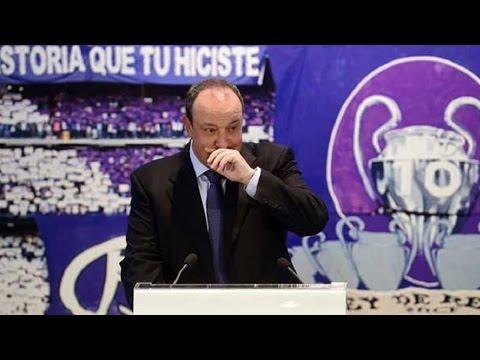 Presentacion Rafa Benitez  - Real Madrid   03/06/2015