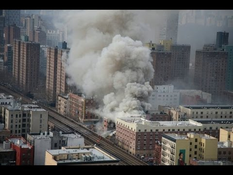 New York City Manhattan Harlem Gas Explosion many dead in NYC