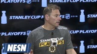 Bruce Cassidy On Zdeno Chara, Analytics In Hockey, Bruins Leadership