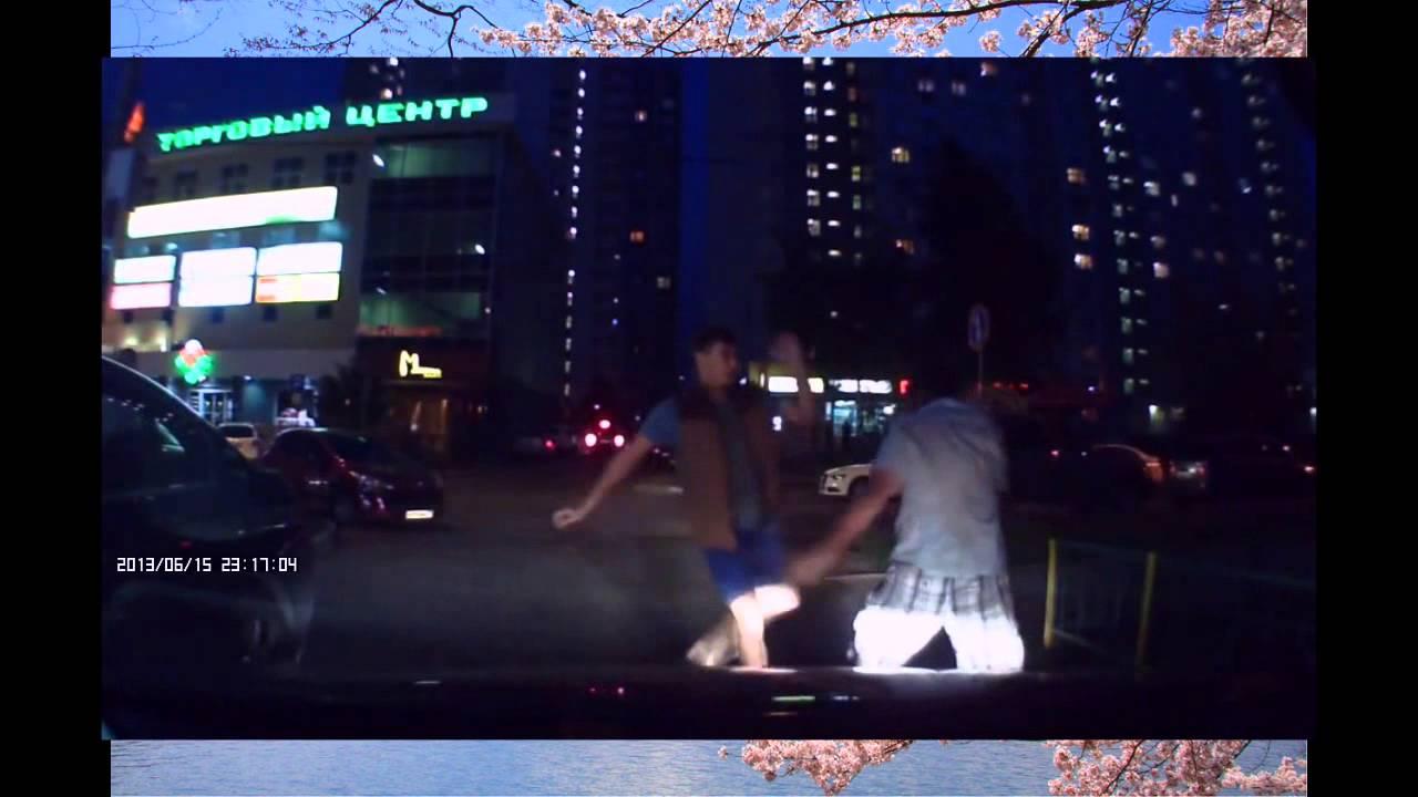Драка на улице Реальные уличные бойцы - YouTube