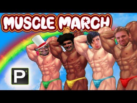 Umiliamoci nuovamente con la Wii - Muscle March