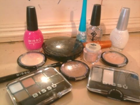 Mis productos BISSU (maquillaje LOW COST)
