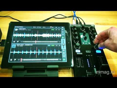 mmag.ru: DJ контроллер Native Instruments Traktor Kontrol Z1 - видео обзор