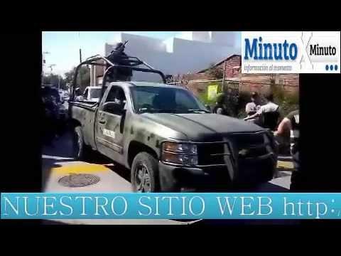 Militares detienen a dos Autodefensas en Uruapan Michoacan