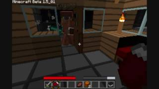 "Minecraft - ""Father Oshwold's diary"" - Part 3: Have You Got Any PORN BOOKS?"