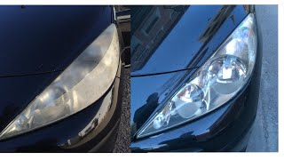 How to polish your car headlights. Easy and simple. For good