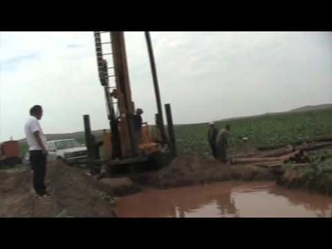 HFW series drilling rig worksite video