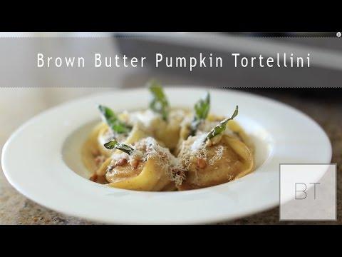 Brown Butter Pumpkin Tortellini - YouTube