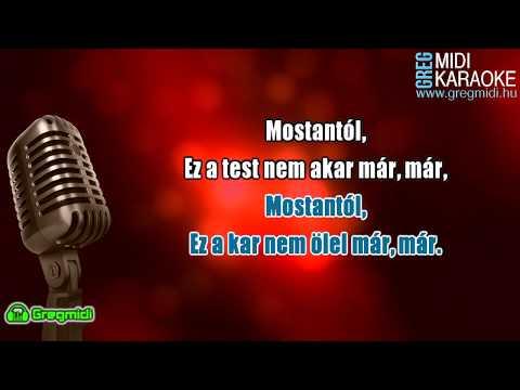 Rácz Gergő X Orsovai Reni - Mostantól karaoke demó