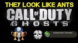 "CoD Ghosts ""They Look Like Ants"" Achievement / Trophy Guide 