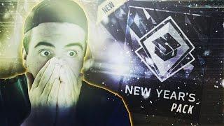 HOLY CRAP!!! INSANE NEW YEARS PACK PULL!! 2017 PROMO PACKS OPENED!