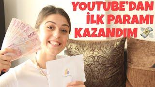 YOUTUBE'DAN İLK PARAMI KAZANDIM! | AYLIK NE KADAR KAZANIYORUM? 💸