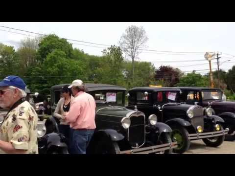 Beardsley Cider Mill Ford Model A & T Show Shelton CT Video3