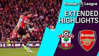 Southampton v. Arsenal | PREMIER LEAGUE EXTENDED HIGHLIGHTS | 12/16/18 | NBC Sports