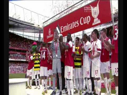 Manuel Almunia Saves - Arsenal Emirates Cup 2010