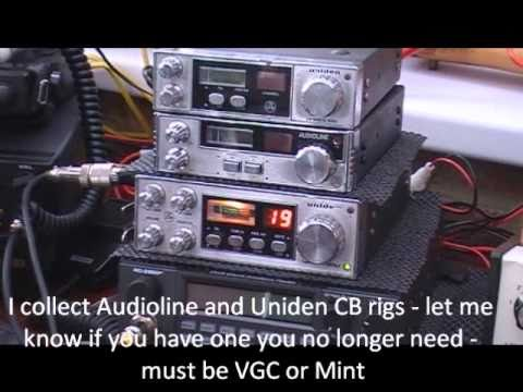 Uniden and Audioline CB Radios