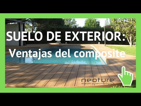 Suelo para piscina en madera sintetica youtube for Suelo piscina carrefour