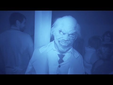 Insidious: Into The Further (nightvision) Halloween Horror Nights 2013 Universal Studios Hollywood video