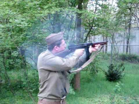 M1a1 Thompson SMG Blank-firing 9mm Bridhead Bussum 2010