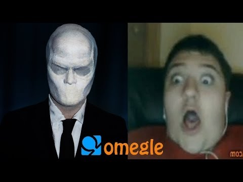 Slenderman Goes On Omegle! video