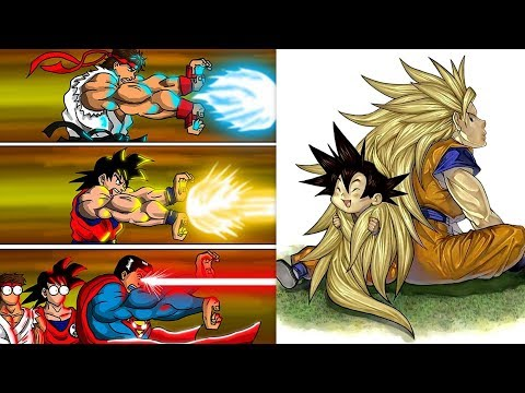 "30+ ""DRAGON BALL Z"" SPECIAL FUNNY COMICS. Watch Till The End."