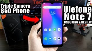 Ulefone Note 7 REVIEW & Unboxing: The Best Phone Under $50!