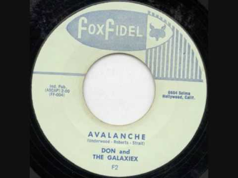 Don And The Galaxies-Avalanche 1960