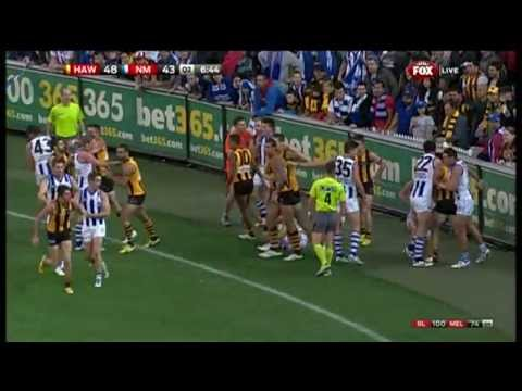 Round 5 AFL  Hawthorn v North Melbourne Highlights
