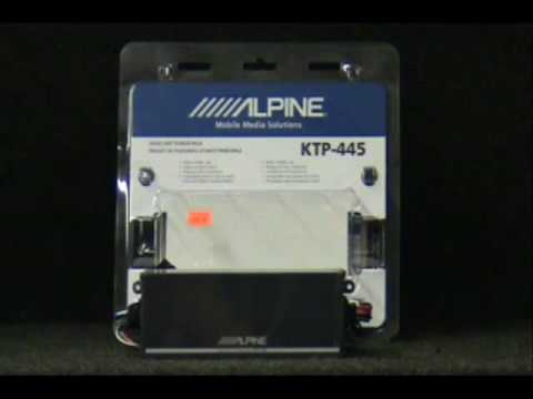 Alpine KTP-445 Powerpack