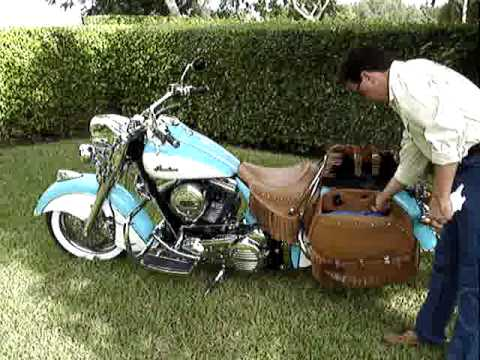 2009 Indian Chief Vintage Motorcycle changing the look.MPG