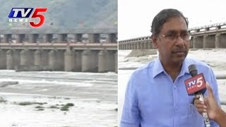 Huge Flood Water at Prakasam Barrage