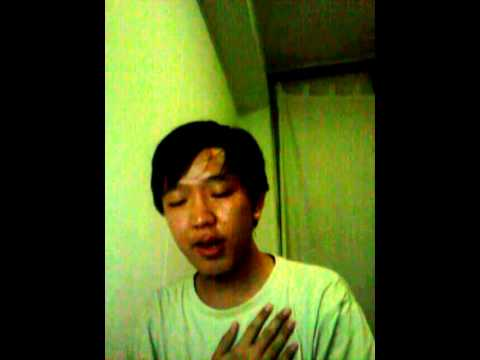 A Myanmar boy is singing Philippines National Anthem LUPANG...