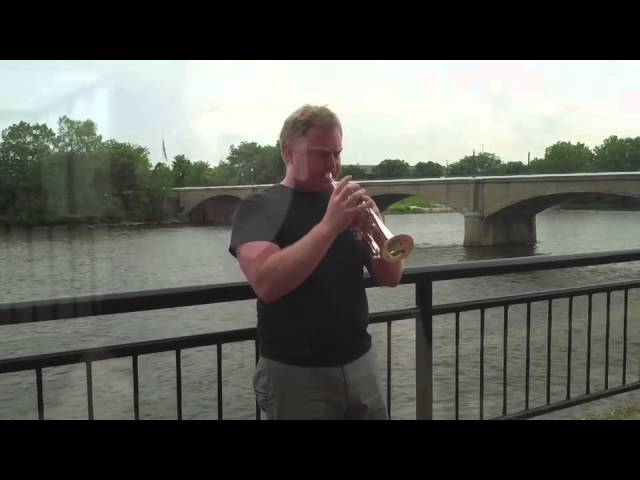Ryan Beach on Stomvi Piccolo Trumpets