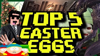 TOP 5 - Easter eggs - Fallout 4 - South Park, Alien, Saw y más...