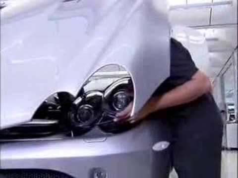 Mercedes-Benz SLR McLaren Production Line