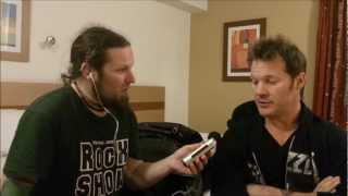 FOZZY Chris Jericho Interviewed in U.K. (2012)