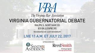 Virginia Gubernatorial Debate 2017