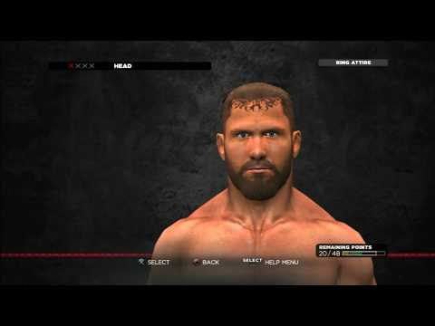 WWE '13: How To Make Curtis Axel (w/Formula) - Created by SurfNturf007 (PS3) ᴴᴰ