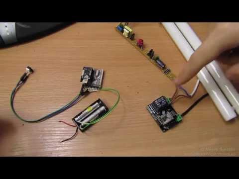 Беспроводной выключатель на Arduino и Mini Rboard