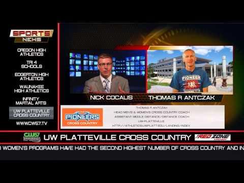 THE SPORTS NEWS | UW Platteville Cross Country | Thomas R Antczak