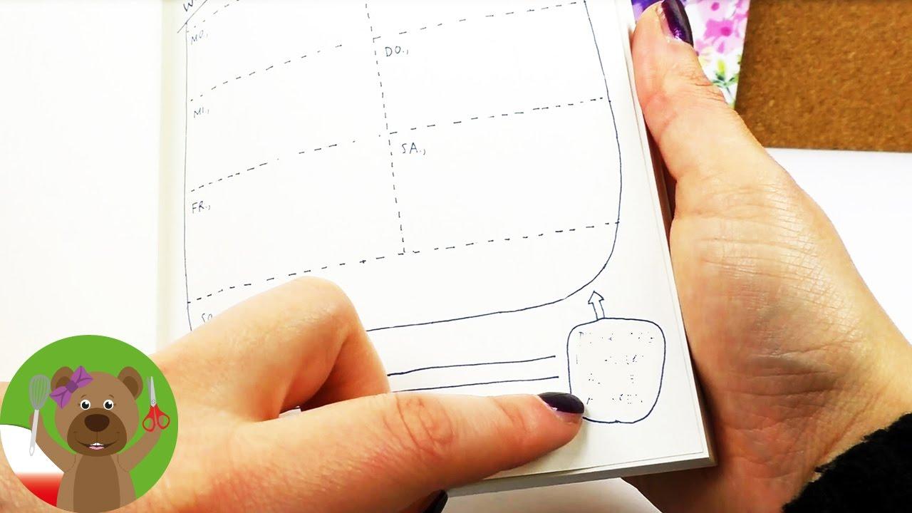 Prezentacja kalendarza | ciekawy kalendarz do ozdobienia samemu