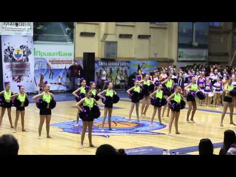 Cheerleading club SPIRIT на Чемпионате Одесской области по черлидингу 2015