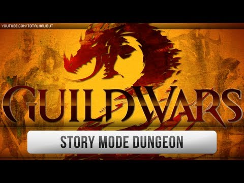► Guild Wars - GW2 Beta - Story Mode Dungeon