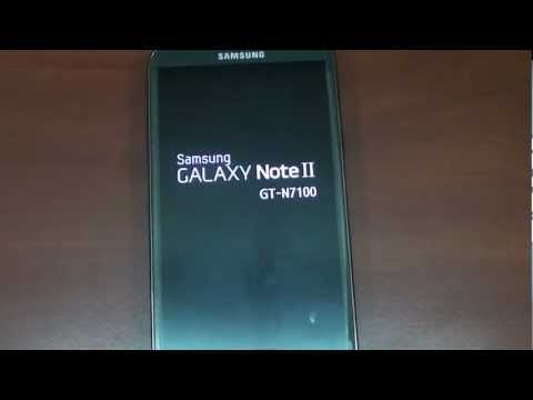 Samsung Galaxy Note 2 N7100 Split-Screen Firmware Upgrade N7100ALIJ1