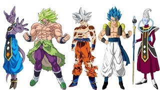 Literally All DBS Characters Ranked From Weakest to Strongest