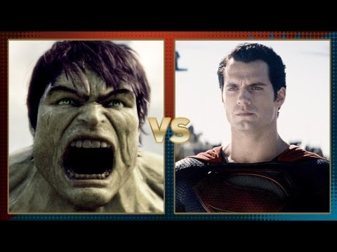 Hulk vs. Superman: Fanboy Faceoff!