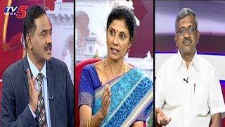 Debate on Telangana Assembly Election Results 2018 - Top Story With Sambasiva Rao  - netivaarthalu.com